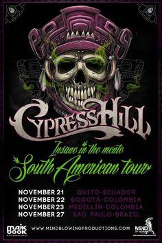 #CypressHill #Insane#In#The#Mente #South#American#Tour #Quito#Ecuador #November#2013