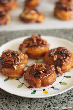 Quick Sticky Buns (puff pastry)
