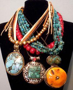Boho Gypsy Necklaces from Tamara Ruiz