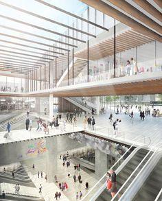 디자인DB > 현장·동향정보 > 디자인뉴스 > 해외 디자인뉴스 > 켄고 쿠마, 파리 지하철 신역 설계 당선