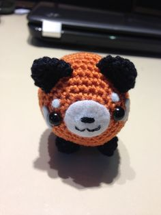 Red Panda Amigurumi Free Pattern- now this I just want to make for myself, I <3 Red Pandas