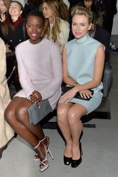 From Sienna Miller to Lupita Nyong'o: The Best-Dressed Women in Calvin Klein's Front Row