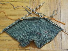 Ravelry: Simple Mittens (Worked Flat) by The Students of Subway Academy II