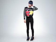 #Yusuke Hida #Yusuke #Devil #Usuke #men fashion #Japanese fashion #fashion #style #Japan #blue hair