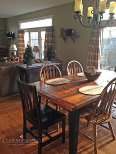 1000 Images About Reclaimed Barn Wood Furniture By E Braun Farm Tables On P