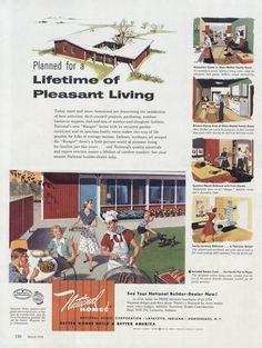 Items similar to 1954 National Homes Ad Mid Century America Family Backyard BBQ Illustration Vintage Advertising Wall Art Decor Print on Etsy Retro Ads, Vintage Advertisements, Backyard Bbq, What's Cooking, Picnics, Sim, Barbecue, Wall Art Decor, Ranch