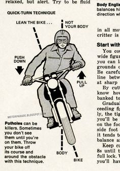 motorcycle riding techniques