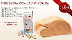 Por la compra de Foie Gras extra, un pac degustación de sales ¡¡¡De regalo!!! http://www.comprarfoie.com/es/producto/Foie-gras-extra_6.html