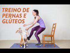 Treino Pesado de Pernas & Glúteos - YouTube