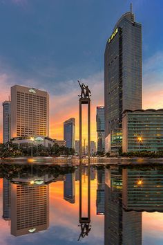 the symbol of capital city, Jakarta Indonesia