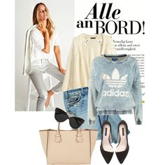 A fashion look from October 2014 featuring adidas Originals sweatshirts, H&M cardigans and Zara pumps. Browse and shop related looks.