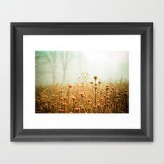 Daybreak in the Meadow Framed Art Print by Olivia Joy StClaire - $36.00