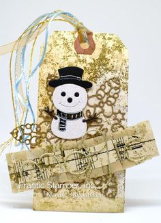 Today I am offering some items from Frantic Stamper. Email all pre orders to darlen. Reindeer Face, Snowman, Tiny Mushroom, Tiny Tags, Pine Garland, Frantic Stamper, Card Making Supplies, Backdrops, Reusable Tote Bags
