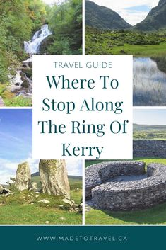 Ring of Kerry: Everything You Need to Know : Ireland Travel Guide: The Ring of Kerr. Click through for the best places to stop on the Ring of Kerry. Backpacking Ireland, Ireland Travel Guide, Best Places To Travel, Cool Places To Visit, Places To Go, The Rok, Clare Ireland, Galway Ireland, Equador