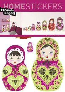 Nesting Doll Wall Decals!