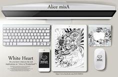 ALICE  MISA心夢少女 White heart純白之心 by hoelex