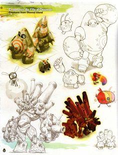 Page 58 de l'Art book de Dofus 2.0