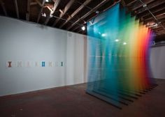 FFFFOUND! | Rainbow Thread Installations | Fubiz™