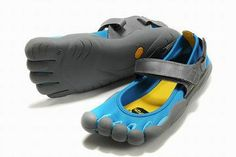 Vibram Five Fingers Sprint Blue/Dark Grey Women's 26115