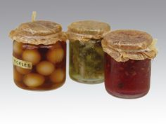 Pickled Onions and Preserves.