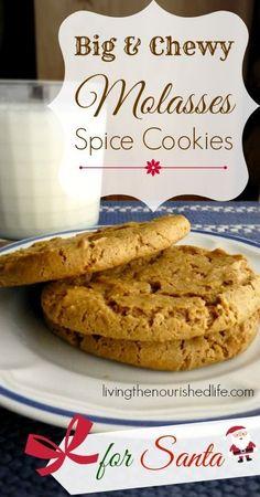 Date-filled molasses cookies recipe