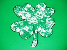 Four Leaf Clover Marble Painting Craft: St. Patrick's Day Craft For Kids. ~ ParentSource.ca Durham Region's Parent and Kid's Guide