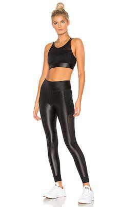 Shop for ALALA Mirage Legging in Black Mesh at REVOLVE. Sports Leggings, Tight Leggings, Lycra Leggings, Shiny Leggings, Latex Pants, Sport Fashion, Womens Fashion, Moda Fitness, Fitness Wear