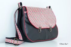 Sac besace Made in china - Tuto du blog les Chiffonneries du chat