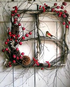 9 Festive Holiday Wreathes » My Craftily Ever After My Craftily Ever After