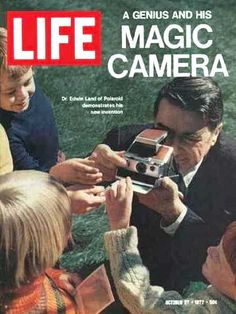 Polaroid on the Cover of LIFE