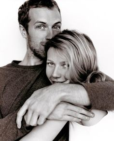 "Chris Martin and Gwyneth Paltrow ""After her father passed away, she came home from the hospital drenched and covered in tears. I started crying and kept asking her: ""What can I do for you? Tell me how can I help..."", and she looked up at me and said: ""Just hold me, 'cause you're the only thing that can fix me right now."" - Chris Martin, on the inspiration for 'Fix You'"