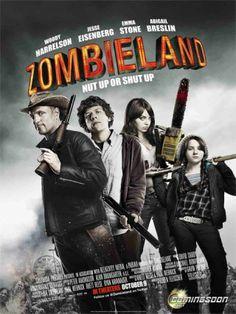 En un mundo plagado de zombis, Columbus (Jesse Eisenberg) es un joven que vive aterrorizado. Pero precisamente el miedo y la cobardía le han permitido sobrevivir. Un día conoce a Tallahassse (Woody Harrelson), Cuando ambos conocen a Wichita (Emma Stone) y a Little Rock (Abigail Breslin), que también sobreviven al caos como pueden, tendrán que elegir entre confiar en ellos o sucumbir ante los zombies. (2009)