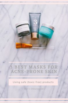 / Safe Beauty Products // Best Face Mask // Best masks for Acne-Prone Skin // Clean Beauty Products //  Always Acne-Prone Most of my life, I've pretty much had acne. If I don't take care of it, I get acne. When the seasons change, I get acne. While I'm traveling, I get acne. I can go on and on about when I get acne, but I guess that's the unfortunate part of having acne-prone … /  #acneprone #bestfacemask