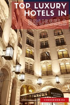 Wondering where to stay in Brussels in luxurious style? Whether you're visiting Belgium for the first time or you need to recommend a hotel to visiting family, we tell you exactly where to stay in Brussels, Belgium. Hotels in Brussels Luxury Hotels be Europe Travel Tips, European Travel, Traveling Europe, Travel Pics, Travel Advice, Travel Guides, Travelling, Travel Destinations, Top Hotels