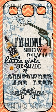 I'm going home, gonna load my shot gun. Wait by the door, light a cigarette. He wants a fight, well now he's got one. He ain't seen me crazy yet. Slapped my face and shook me like a ragdoll, don't that sound like a real man? I'm gonna show him what a real girls made of, gunpowder and lead
