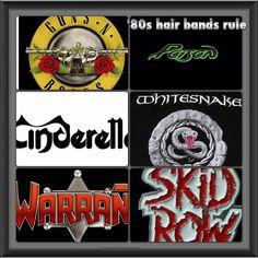 80s hair bands rule