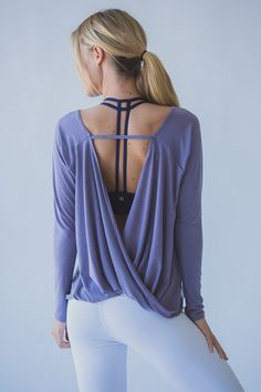 Hanley Long Sleeve in Lavender
