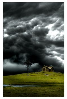 Stormy sky ... could not be more perfect