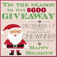 'Tis the Season to Win $600 Visa Card Giveaway at Setting for Four