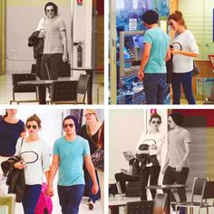 lou and el in nice, france today! so. flipping. adorable. <3 i want a romantic getaway with louis tomlinson.