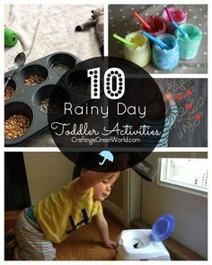 Oh my gosh, it has rained ALL WEEK so far! Are your kids getting cabin fever like mine is?