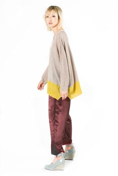Lurex Oversize Sweater