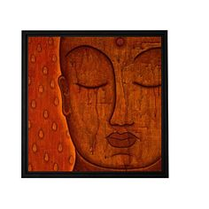 ArtWall Gloria Rothrock 'Awakened Mind' Floater Framed Gallery Wrapped Canvas, 24 by 24-Inch, Holds