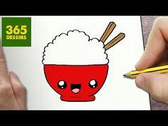 COMMENT DESSINER SUSHI KAWAII ÉTAPE PAR ÉTAPE – Dessins kawaii facile - YouTube