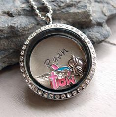 Angel Baby Personalized Themed Floating Locket Personalized Necklace Use Coupon PINTEREST to save another more.