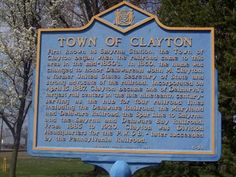 Town of Clayton Delaware - Delaware Historical Markers on Waymarking ...