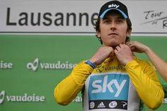 Cyclisme/Tour de Romandie - Le Britannique Thomas Geraint remporte le prologue