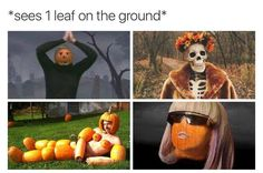 If you're sick of summer and longing for sweaters and PSLs (first of all you're wrong), then here are some memes for you, ya weirdo! 12 Fall Memes For The Weirdos Who Hate Summer - Funny memes that Spooky Memes, Spooky Scary, Funny Halloween Memes, Creepy, Dankest Memes, Funny Memes, Meme Meme, Hate Summer, Summer Fall