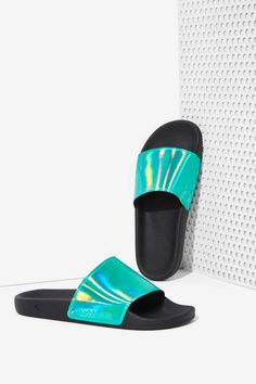 Sixty Seven Ariel Slides - Green Hologram