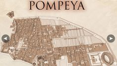 Pompeya, catástrofe bajo el Vesubio. Conjunto de infografías elaboradas por el diario ABC con motivo de la exposición del Centro Arte Canal. #rinconccss